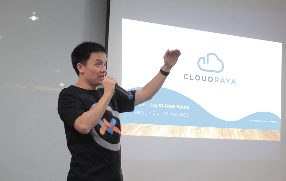 Cloud Raya Sukses Gelar Webinar Build Your Project from Home